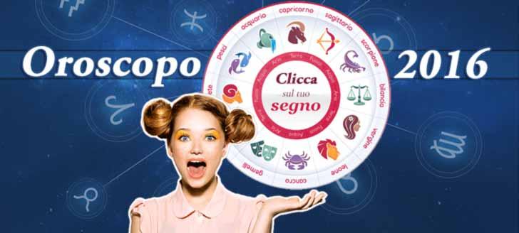 Oroscopo 2016